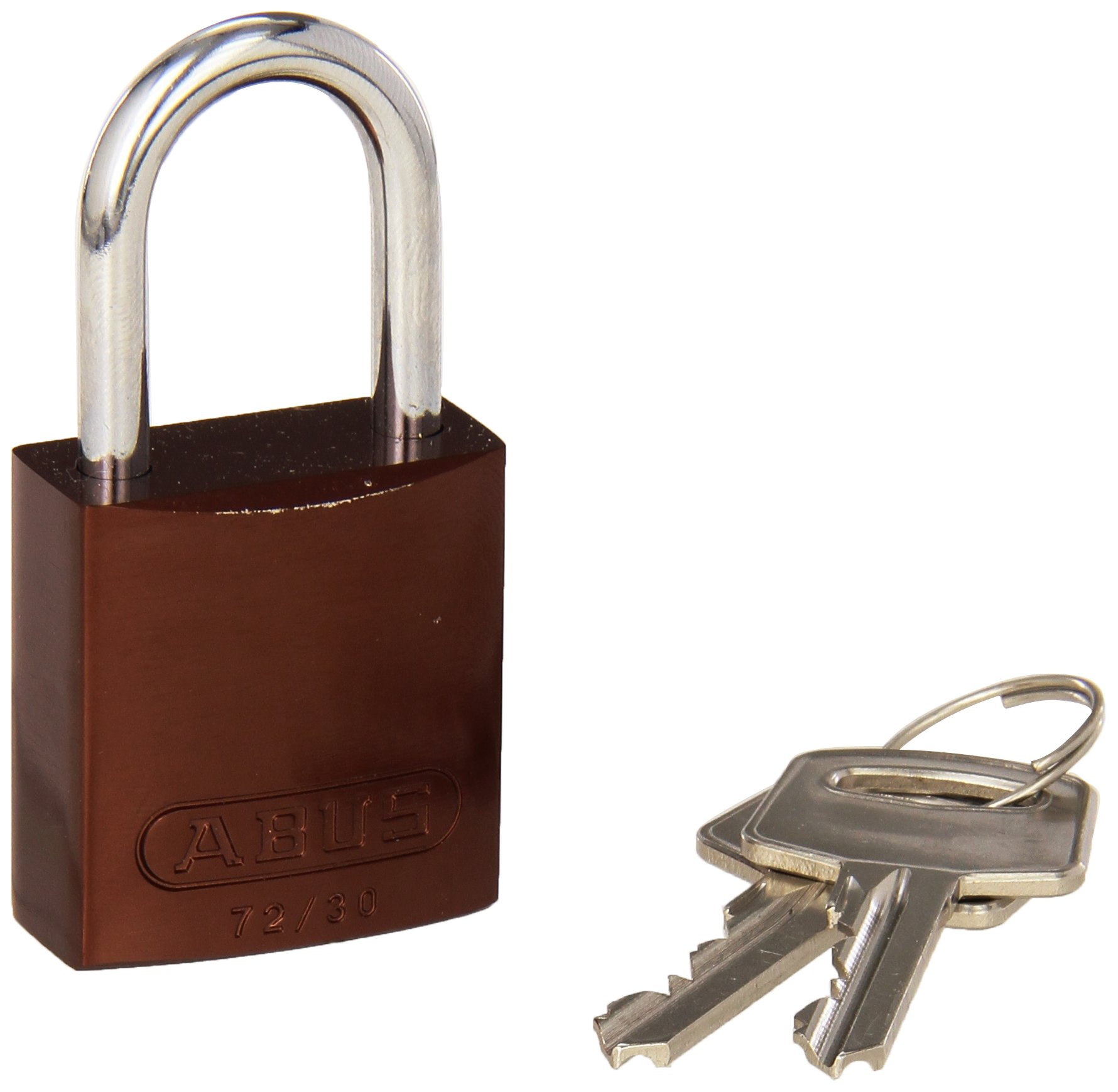 Brady 133294 Keyed Padlock, Alike Key, Aluminum (Pack of 6)