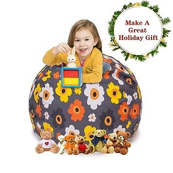 Amazon Com Cala Extra Large 38 Stuffed Animals Bean Bag Chair