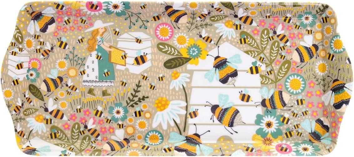 Ulster Weavers Bee Keeper Vassoio piccolo multicolore