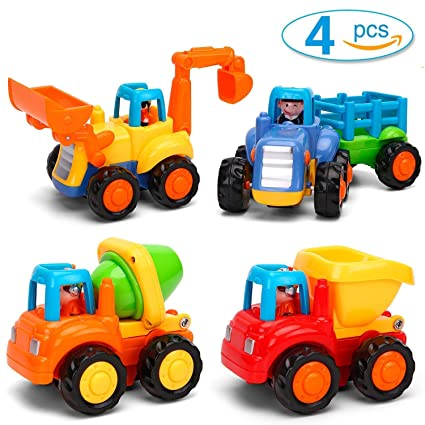 Construction Voiture De En 3 Bebe 1 Enfant Version 2 Allemande Véhicules Ans Plastique Jouets Gostock PZNnkX80Ow