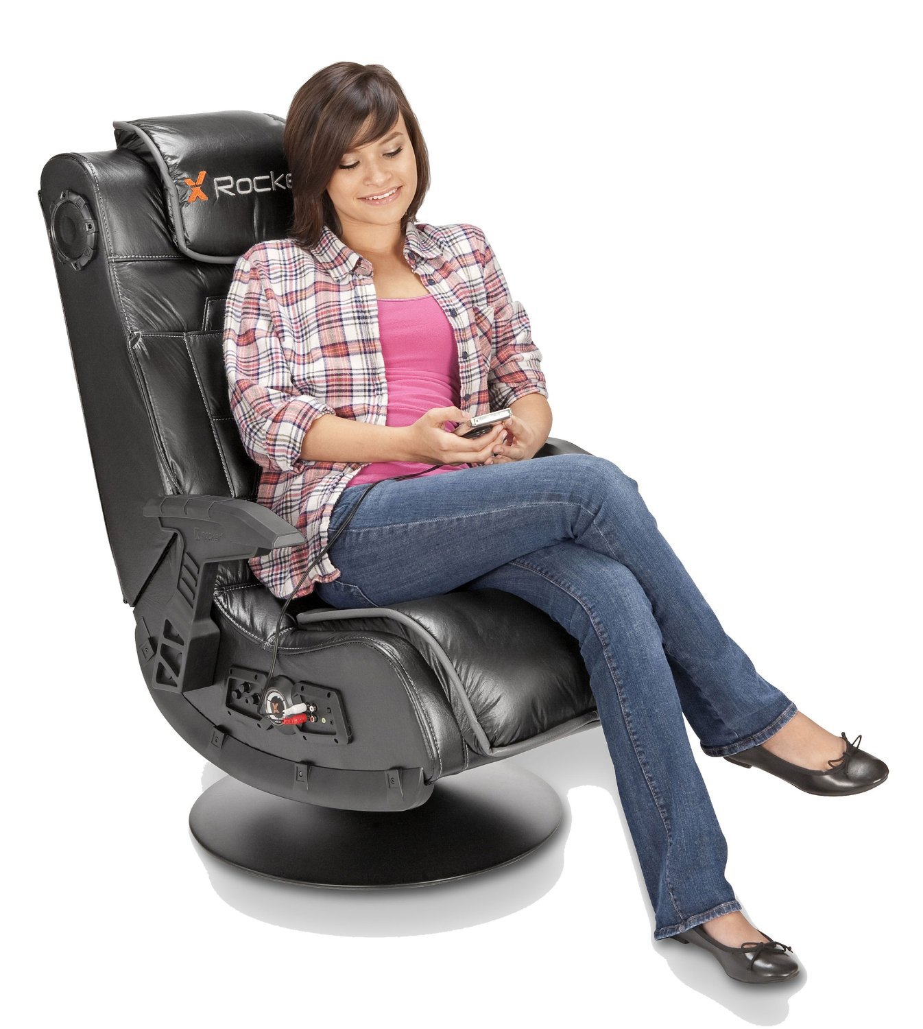 Amazon.com: SILLON MULTIMEDIA INALAMBRICO X ROCKER PRO, con ...