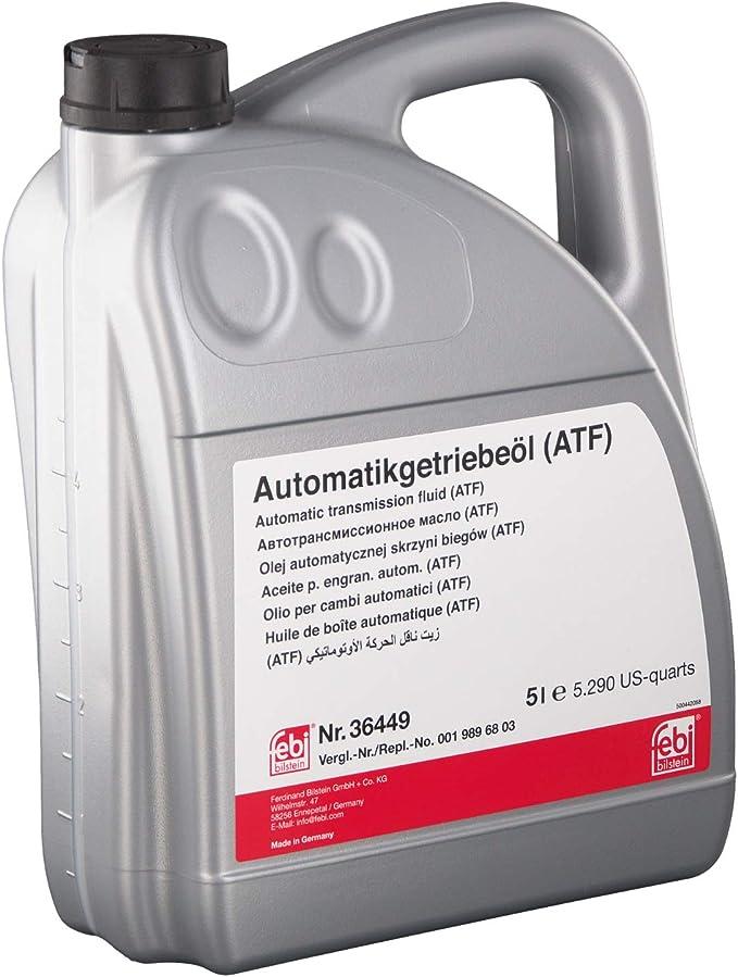 Febi Bilstein 36449 Automatikgetriebeöl Atf 5 Liter Auto