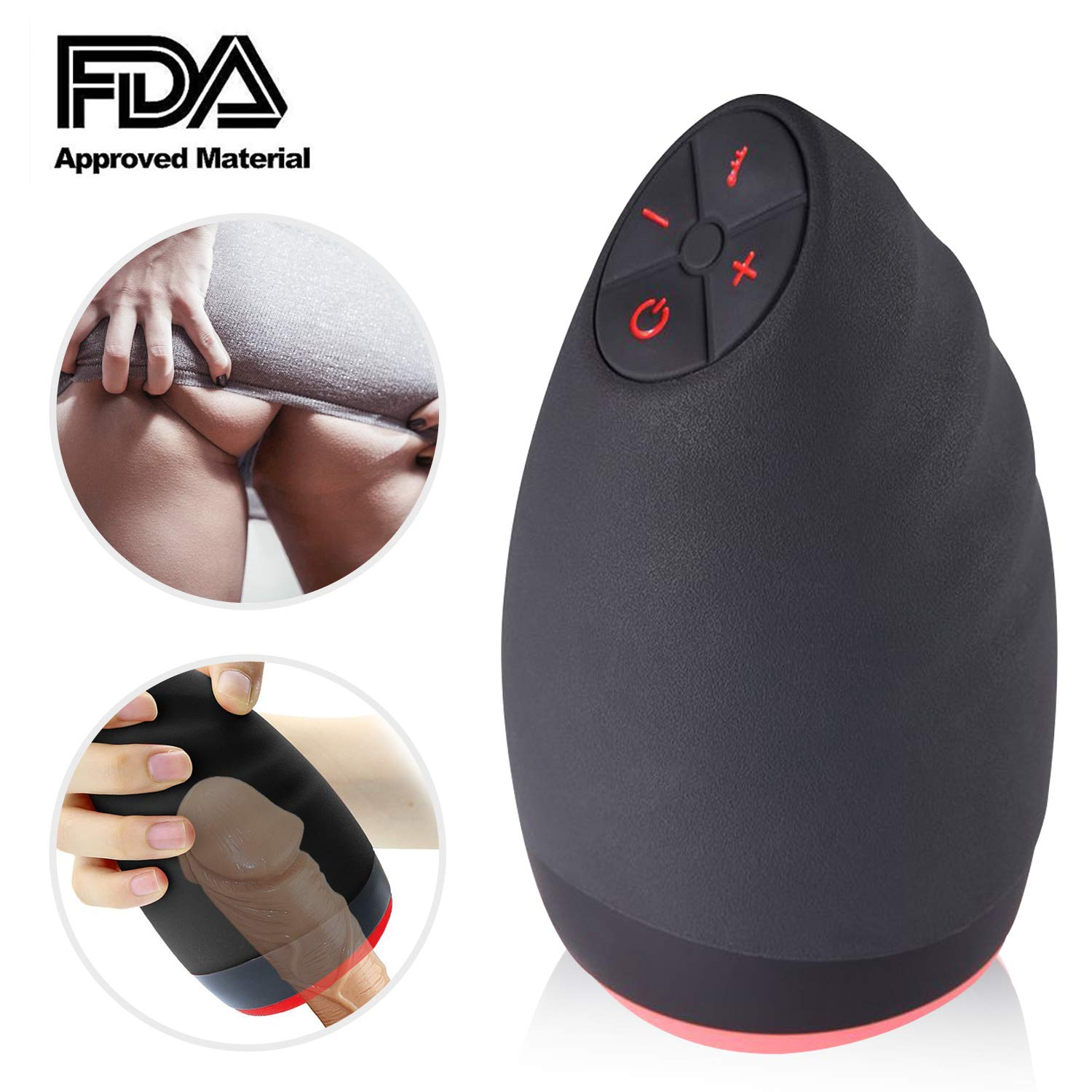 Male Full Automatic Cup Sucking Electronic Man's Toy Mini Massage Cup Best Gift jiyougsi
