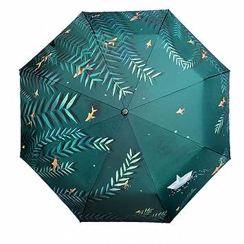 Sombrilla Plegable Creativos, Personalizados, Paraguas De Sol / Doble Propósito Paraguas, Paraguas De