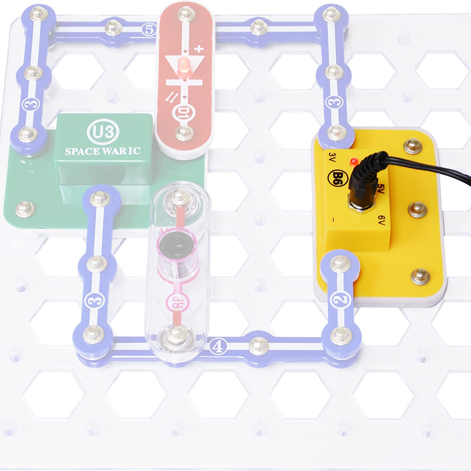 Buy Elenco Snap Circuits Battery Eliminator Online At Low Prices In Pro Sc500 India