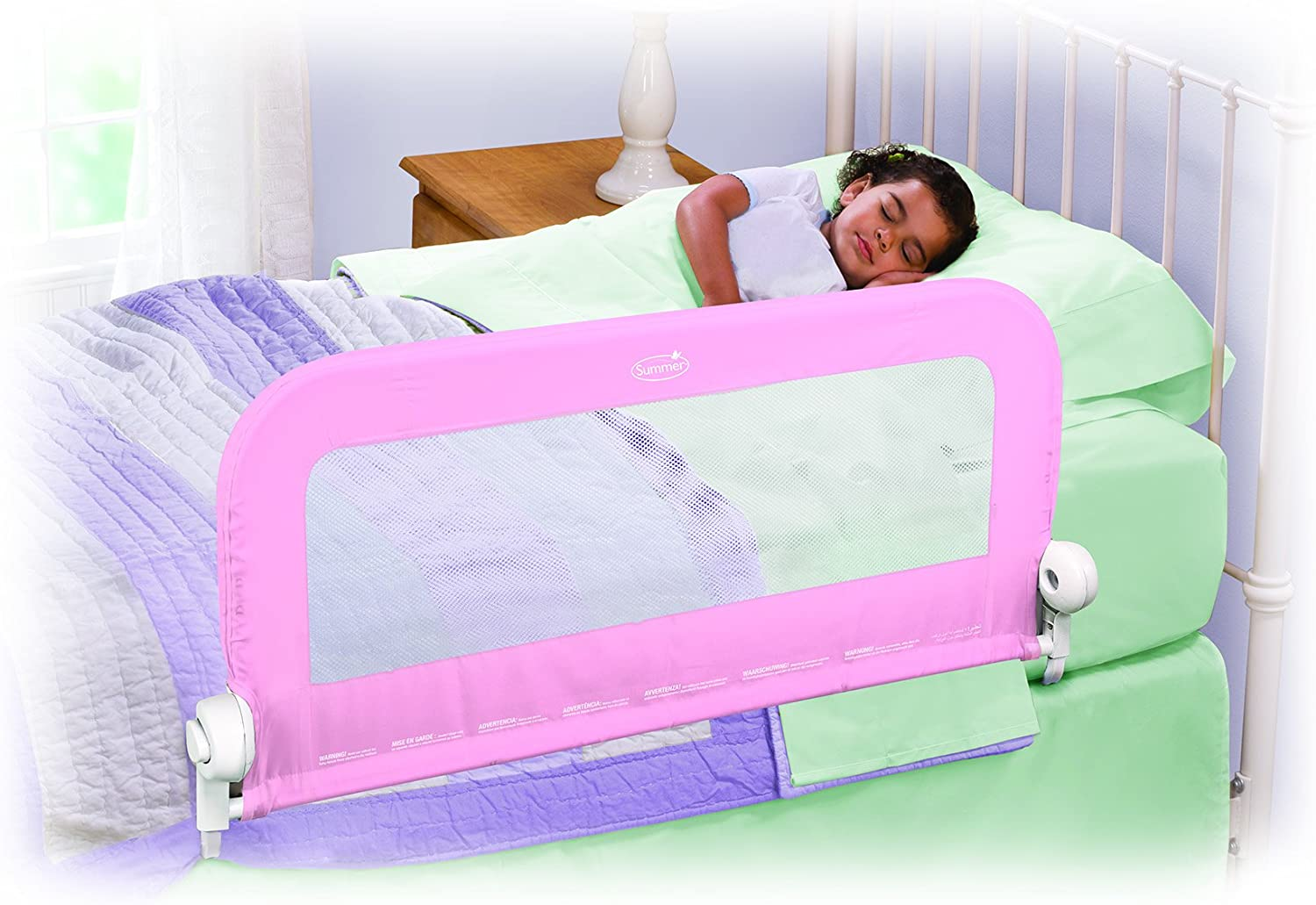 Summer Infant Bed Rail Grow With Me Blue Single