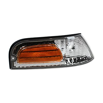 TYC 18-5095-01-1 Compatible with Ford Crown Victoria Front Right Replacement Side Marker Light: Automotive