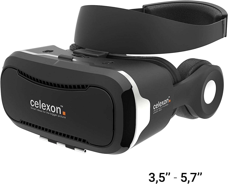 Gafas VR celexon Expert - Gafas 3D realidad virtual VRG 3 con ...