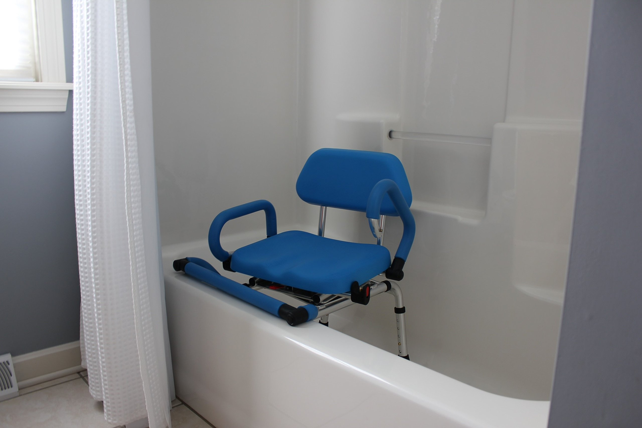 Platinum Health Bath and Shower Chair with Padded Swivel Seat by Platinum Health (Image #4)