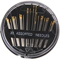 Generic Imported 30Pcs Assorted Hand Sewing Needles Embroidery Mending Craft Quilting