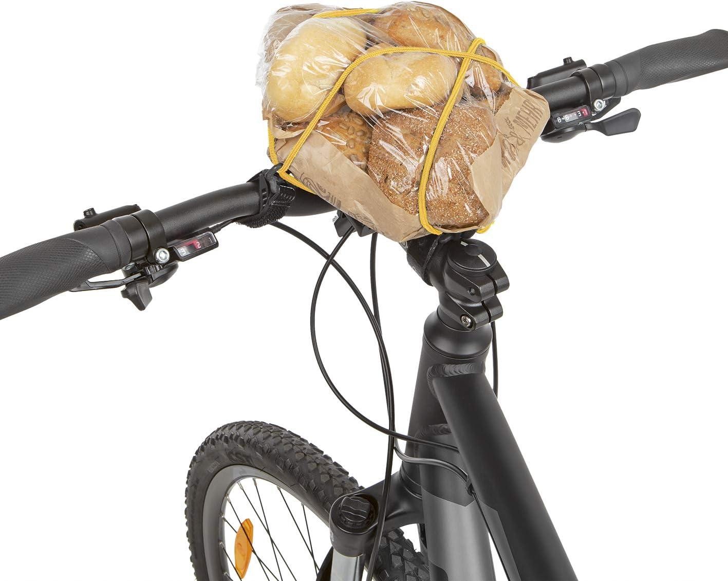 carryyygum Lenkerspannband 105cm Fahrradlenker Elastisches Gummiband Mini-Gep/äcktr/äger f Spanngummi Klettverschluss Gep/äckspanner