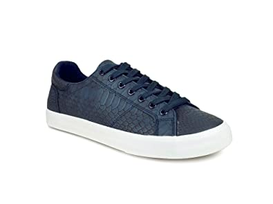 5bfdc639834 Ripley Neon Series Blue Leatherette Men Casual Shoes  Buy Online at Low  Prices in India - Amazon.in