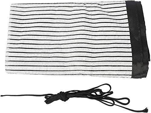 Sun Shade Cloth,Sunblock Shade Curtains,Sun Screen Roll,UV Resistant Net Canopy For Garden Flowers Greenhouse Patio Lawn,Big Size 71.6 Lx36.2 W,Packed With 10Meters Digging Rope And 12 Grommets