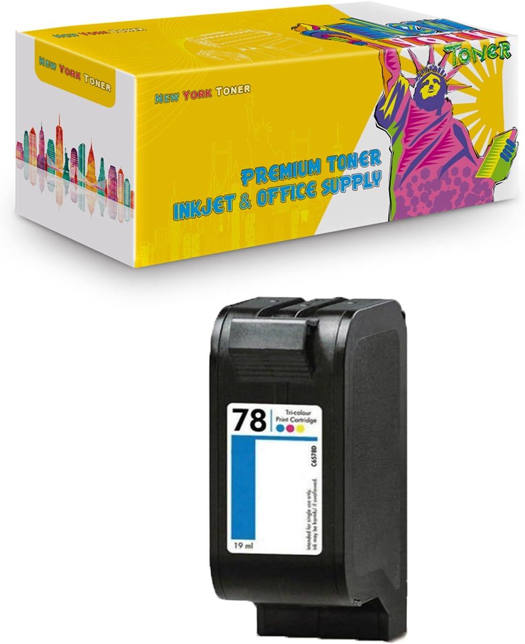 New York Toner Compatible Toner Cartridge Replacement for HP C6578DN 78 712C( Cyan, Magenta, Yellow , 1 pk )