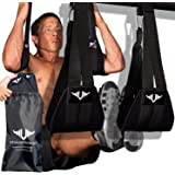 Vikingstrength AB straps - Home Gym Exerciser Ab Slings pair for pull up bar - Hanging Leg Raiser Fitness for six pack…