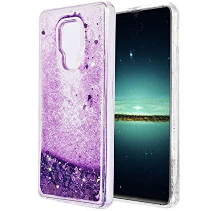 Funda Huawei Mate 20 X Silicona, Mate 20 X Purpurina Carcasa ...
