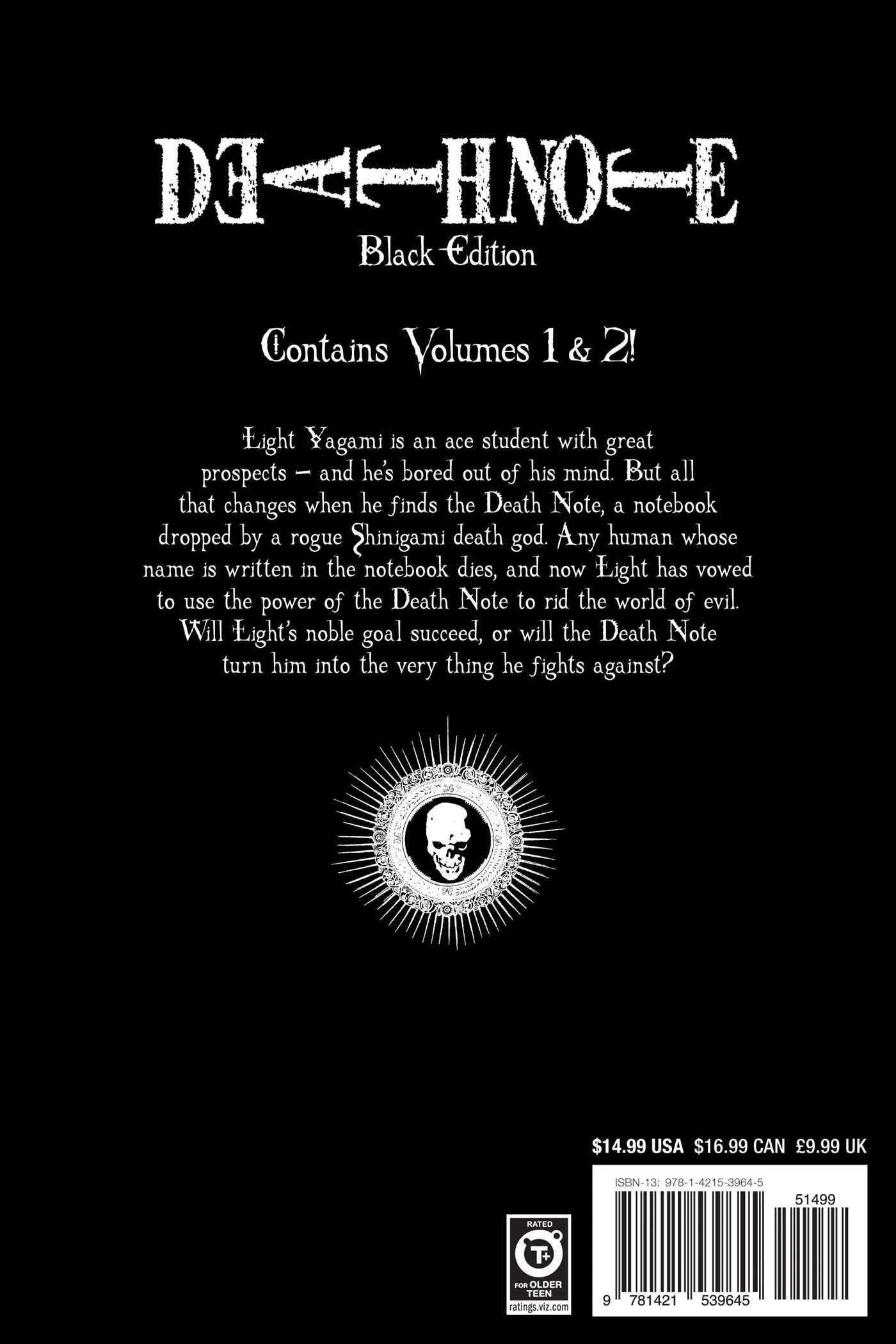 Death Note Black Edition Vol 1 Tsugumi Ohba Takeshi Obata – Death Note