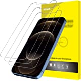 JETech Screen Protector for iPhone 12 Pro Max 6.7-Inch, Tempered Glass Film, 3-Pack