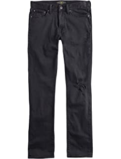 f1f1fcfc Lucky Brand Men's 7MD10294 410 Athletic Fit Destroyed Jeans Walker Lake  Black
