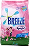 Breeze Powder Detergent, Fragrance of Comfort, 2.1 kg (Packaging may vary)