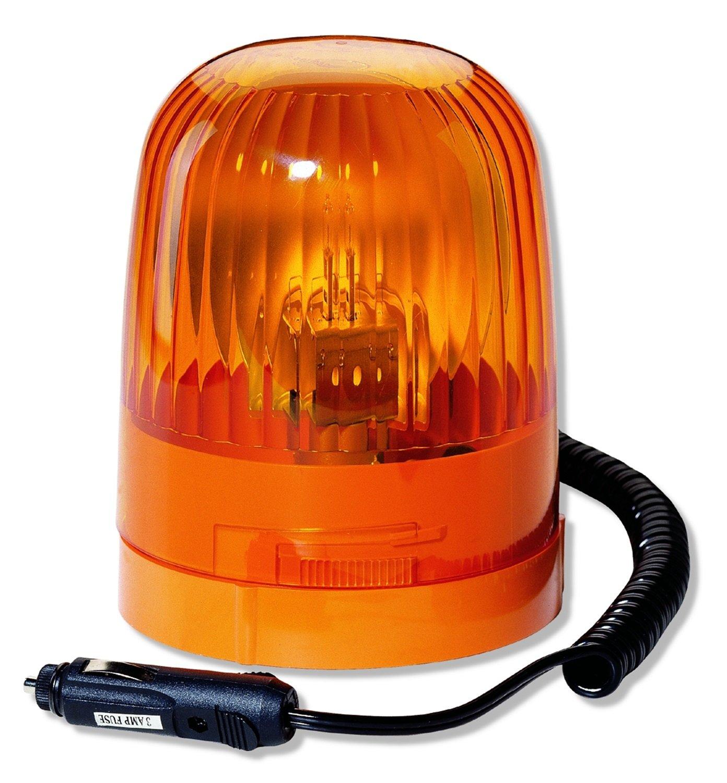 HELLA 007552001 KL Junior Magnetic Mount Beacon Warning Light Amber Rotating Pattern