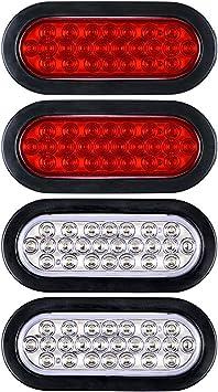 12V LED Light Kit TrailerUtility Bulbs for Easy Assembly Tail Lights