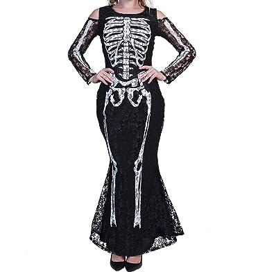 Amazon Ytwysj Women Sexy Cold Shoulder Long Sleeve Halloween