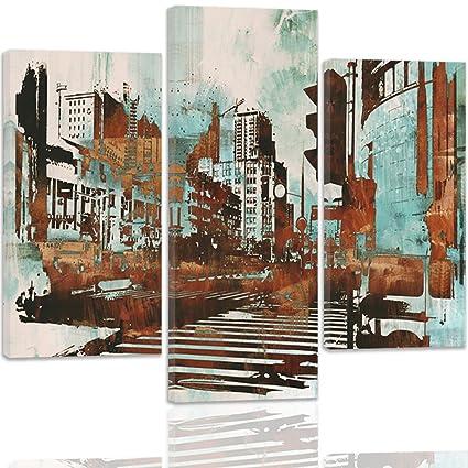 feeby Frames, cuadro Multi Panel 3 partes, cuadro estampado ...