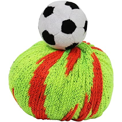 6736be9ef23cf Amazon.com  DMC Top This! Soccer Ball Yarn Kit