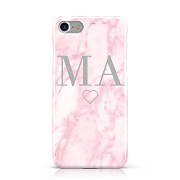 iphone 7 pink marble phone case