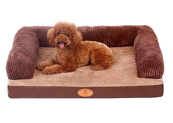 ZSY pet Cama para Perros Grandes Cuna de colchón Suave Colchón de Gato Medio Cómoda Lavable Extraíble Cubierta de Cubierta para Interior, s: Amazon.es: ...