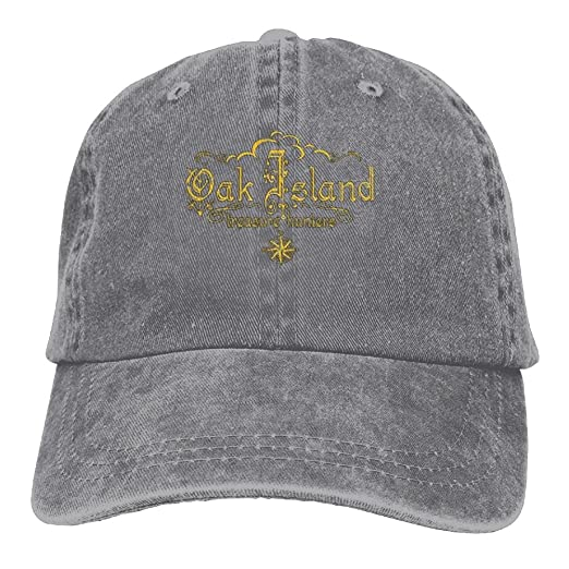 7439ec85340 Amazon.com  Unisex Oak Island Treasure Hunters Challenge Cap Oak Island  Treasure Hunters Action Hats Hunting Hat Ash  Clothing