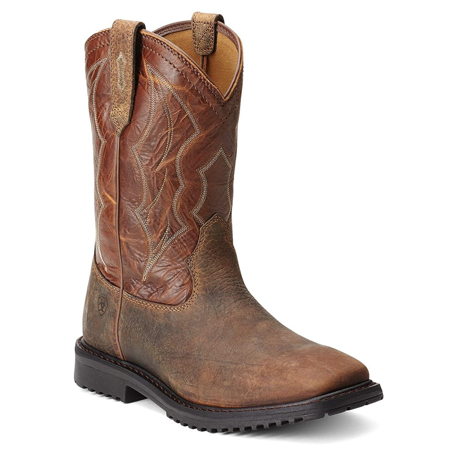 Ariat Mens Rigtek Wide Square Toe Western Work