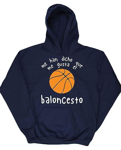 Hippowarehouse Me Han Dicho Que Me Gusta El Baloncesto Jersey ...
