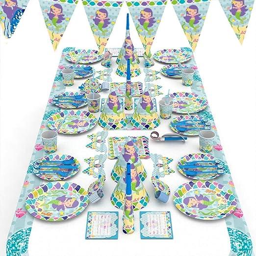QAWSED Fiesta De Cumpleaños Infantil Decoración 16 Piezas ...