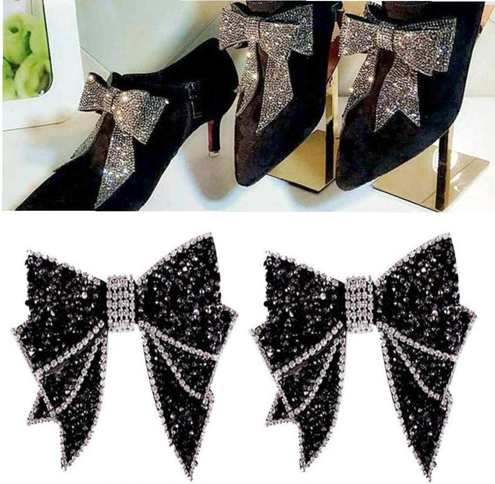 Casecover 1PC Crystal Shoes Clips Bridal Wedding Party Shoes Accessories Women Shoes Rhinstones Ornament