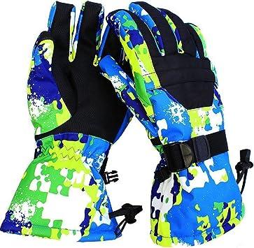 Enfants chauds gants de doigt complet filles gar/çons