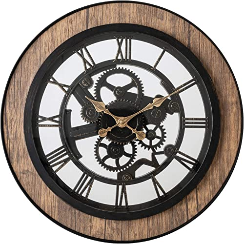 Pacific Bay Bornheim Large Decorative Light-Weight 20-inch Wall Clock Silent