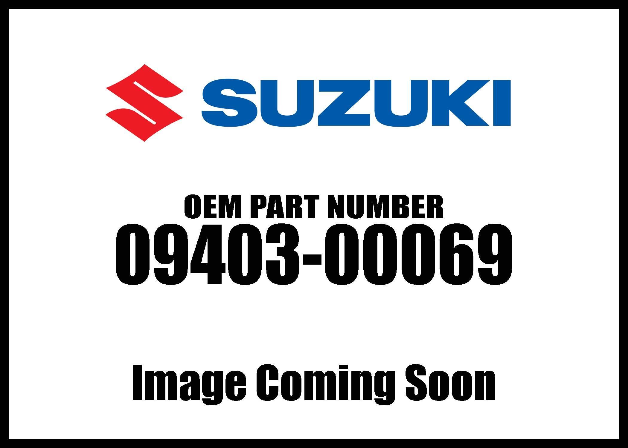 Suzuki Fuel Hose Clamp 09403-00069 New Oem