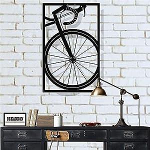 "Metal Wall Art, Bicycle Wall Art, Bike Art Metal, Metal Wall Decor, Home Decoration Living Room Decor (23""W x 35""H / 58x90 cm)"