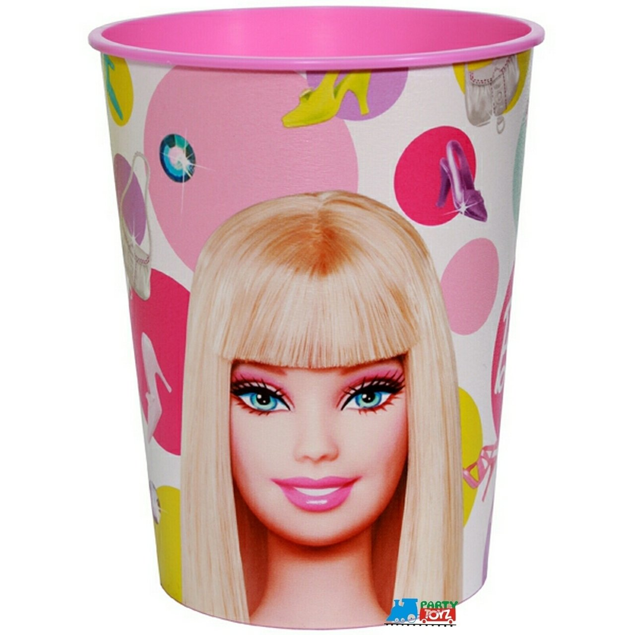 【Barbie】バービー 16oz パーティーカップ(容量:473ml 16oz)   B00CU3H8GE