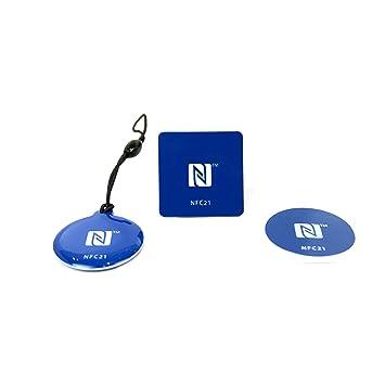NFC Etiquetas Starter Kit S - llaveros NFC NFC imán + ...
