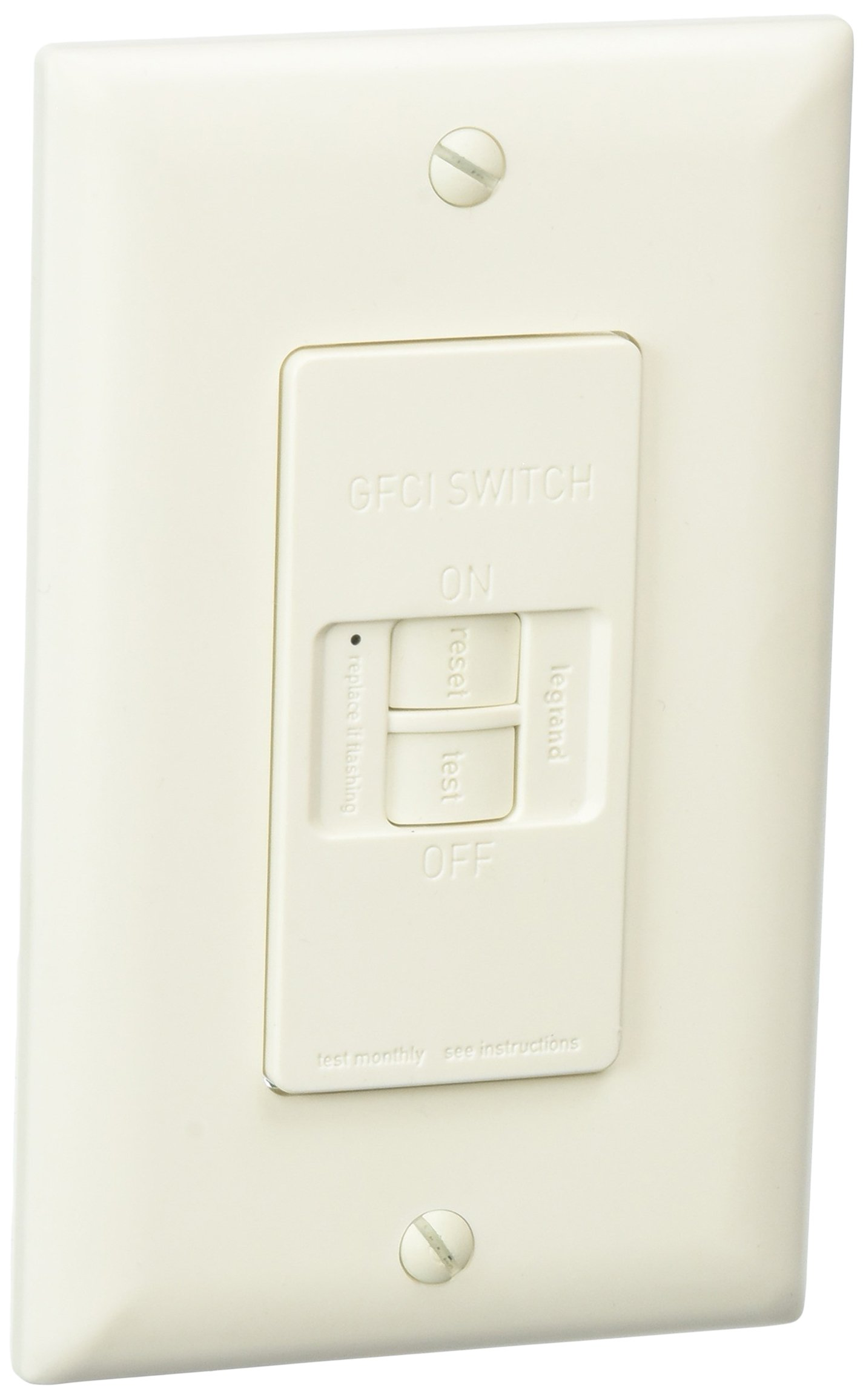 Legrand-Pass & Seymour Radiant Tamper Resistant Self Test Outlet