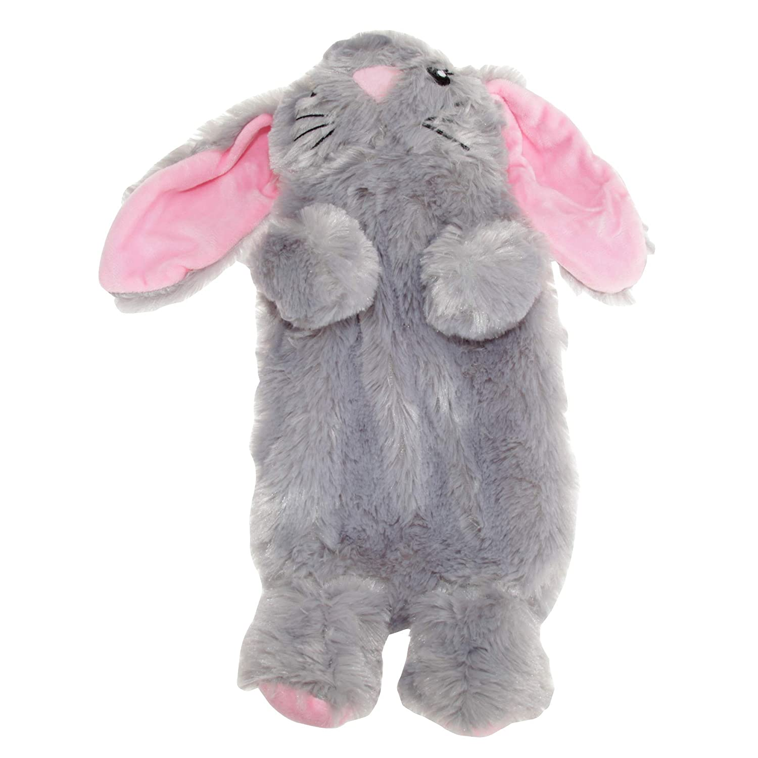 Slumberzzz Kids/Childrens Rabbit Hot Water Bottle And Cover (One Size) (PINK) UTKID133_1