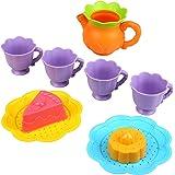 Peradix Set GiochiServizio da Tè Cucina Giocattolo Giochi Sabbia E Neve per Bambini