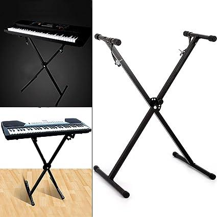 Küchenks Soporte para Piano electrónico X Teclado Musical ...