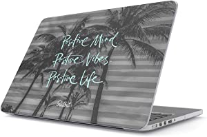 Glitbit Hard Case Cover Combatible with MacBook Pro 15 Inch Case Release 2012-2015, Model: A1398 Retina Display NO CD-ROM Positive Life Love Good Vibes Only Palm Trees Inspirational Postivity
