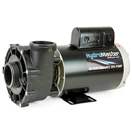 amazon com: 3 hp hot tub spa pump side discharge 2-spd 56-frame lx motor  240v by hydromaster (also replaces waterway or aqua-flo): garden & outdoor