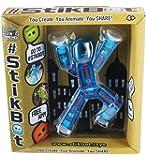 Stikbot, Translucent Light Blue Stikbot Figure, 3 Inches