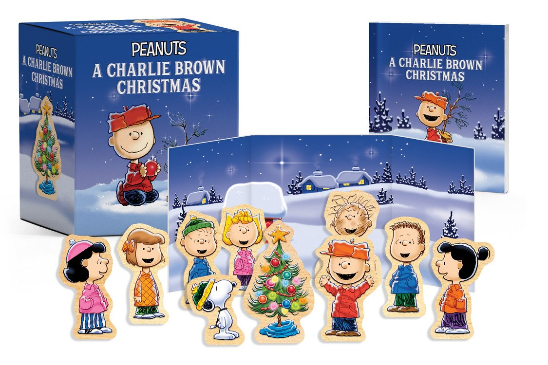 Peanuts: A Charlie Brown Christmas Wooden Collectible Set Paperback – October 9, 2018 Charles M. Schulz 0762464097 General Adult NON-BOOK